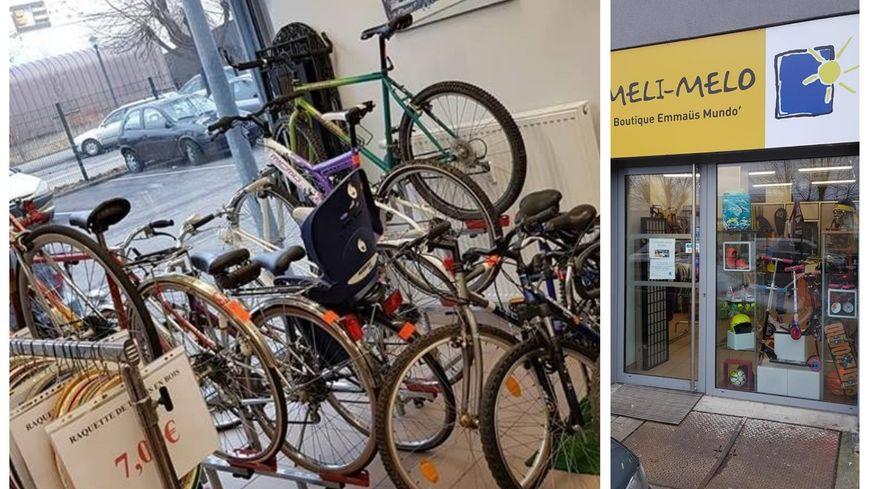 Boutique Sport, Réparation de vélo